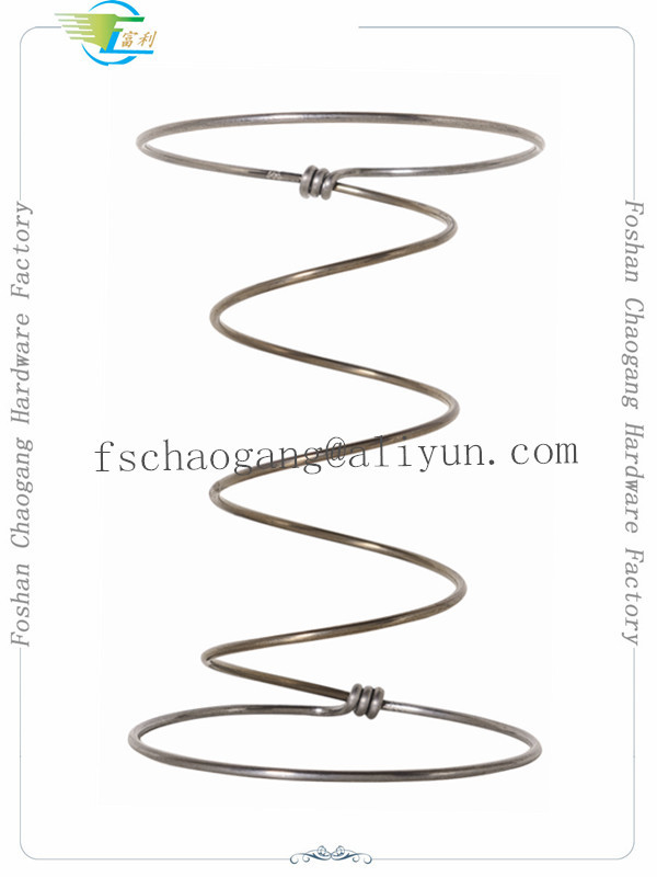 7 Turns High Carbon Steel Wire Spring Coil For Bed Mattress Good Resilience