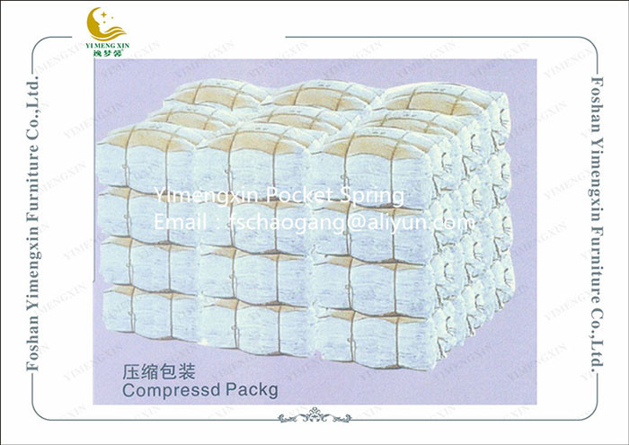 Individual Sofa Seat Springs Coil , Cushion Making Pocket Spring Unit